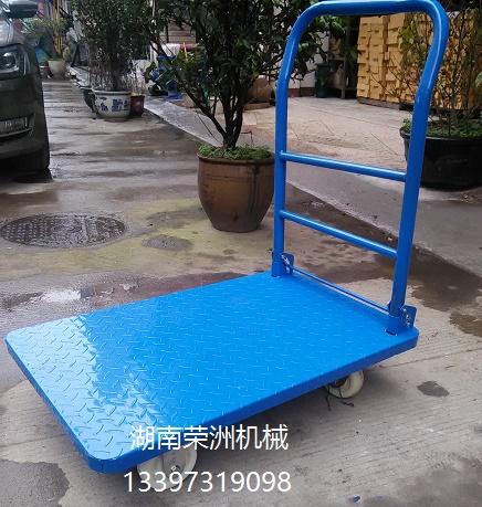 花纹板平板车